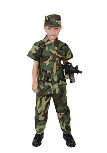 Rothco Kids Camouflage Soldier Costume, 4-6 Year