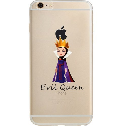 competitive price 33a1e 4ccef Disney Villains Evil Witch, Ursula, Maleficent Jelly Clear Case for Apple  iPhone 6 PLUS / iPhone 6s PLUS (5.5