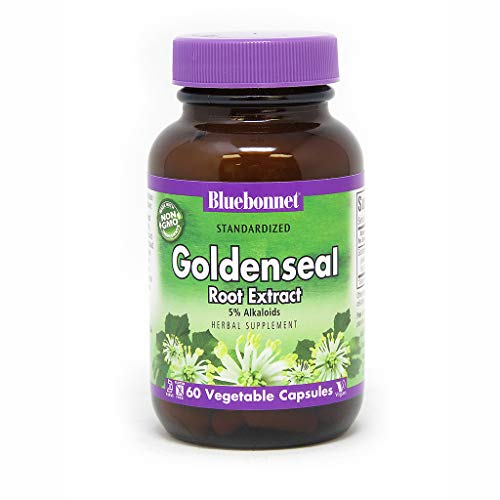 BlueBonnet Goldenseal Root Extract Supplement, 60 Count ()