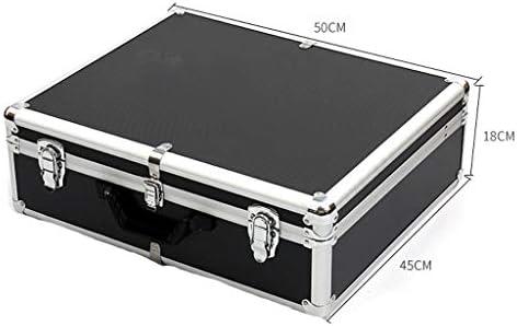 LHT ハードウェアアルミ合金ツールボックスカスタム多機能ポータブルカー音源ボックスパスワード耐震性アルミボックス ツールボックス