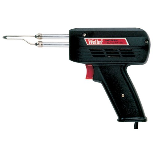 WELLER Soldering Gun - Model: D550 Tip Temperature: 1,100°F ~ 900°F Volts: 260V D550 Weller Soldering Gun