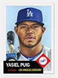 #5: 2018 Topps The Living Set #66 Yasiel Puig Los Angeles Dodgers Online Exclusive Baseball Trading Card SOLD OUT at Topps