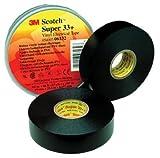 3M 06133 Scotch 33+ Super Vinyl Electrical Tape, 3/4'' x 52ft