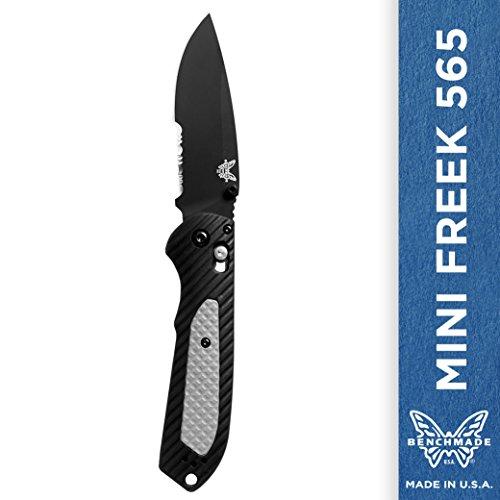 Benchmade – Mini Freek 565 Knife, Drop-Point Blade