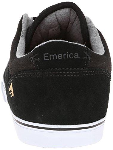 Emerica The Herman G6 Vulc - Zapatillas de skateboarding para hombre Negro (black/white 976)