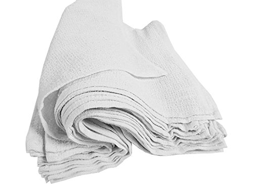 RagLady Ribbed Terry Towels - 15'' x 18'' - Case of 240 Towels - Perfect Cleaning Rag by RagLady (Image #3)