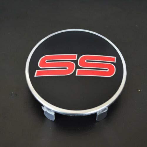 - SS Black and RED Emblem Badge Left Drivers Side Steering Wheel Horn Cover Emblem Logo Badge Sign