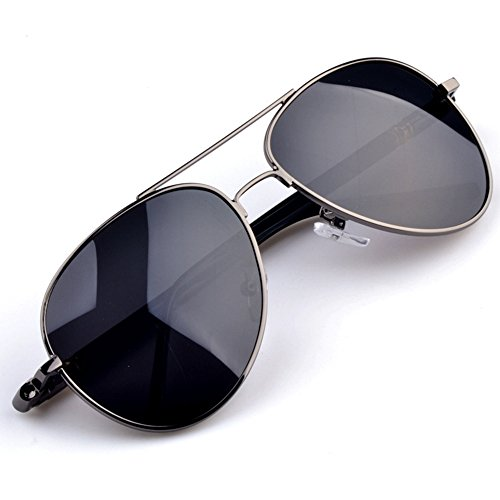 Sepver Fashion Sunglasses Frame Glasses Metal Classic Aviator style Polarized Lens for Men Women UV 400 protection Sunglass - Tough Sunglasses