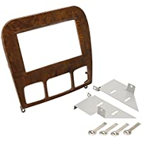 SCOSCHE MZ2354WDDB 1998-05 Mercedes Benz S Class  Double DIN Kit; Wood Look Finish