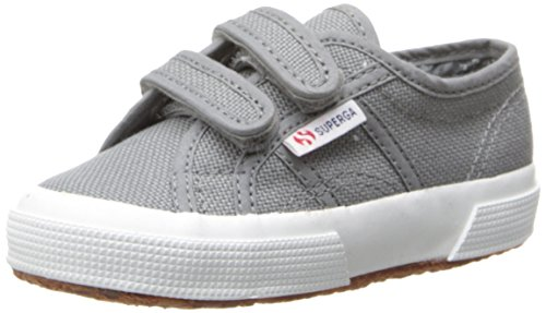 Superga Kids 2750 JVEL Classic (Toddler/LK), Grey Sage, Medium / 1 M US Little Kid (Superga Kids Classic Shoe)