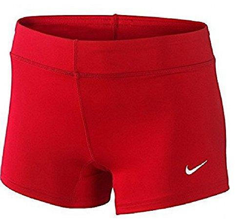 Nike Performance women's 3.75'' game shorts… (Scarlet, Medium)