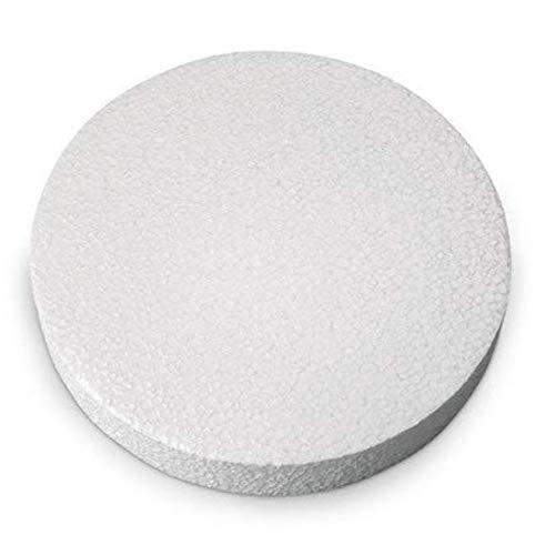 Craft Foam Circle Disc - 12 PC Pack (8'' Diameter x 1'' H) by CalCastle Craft (Image #2)