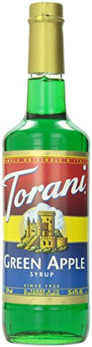 Torani Green Apple Syrup, 750 mL