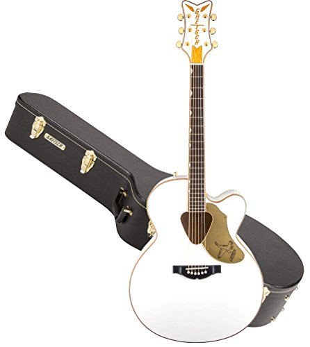 Maple 12 String - Gretsch G5022CWFE-12 Rancher Falcon White 12-String Acoustic-Electric Guitar