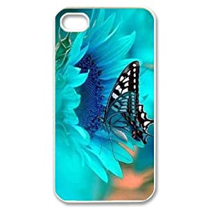 taoyix diy Butterfly ZLB580226 Unique Design Phone Case for Iphone 4,4S, Iphone 4,4S Case