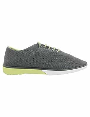 Muroexe Muro exe Zapato Atom Chroma Grey Lime: Amazon.es: Zapatos y complementos