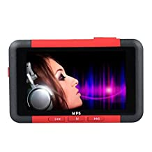 """ODGear 4.3"""" 8GB FM Radio Stereo Video Movie Slim MP3 MP4 MP5 Music Player, Support MP3/WMA/WMV/ASF/WAV/ASF/ACT, JPEG/GIF/SWF, Built in Rechargeable Battery"""