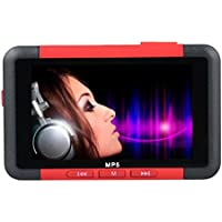 ODGear 4.3 8GB FM Radio Stereo Video Movie Slim MP3 MP4 MP5 Music Player, Support MP3/WMA/WMV/ASF/WAV/ASF/ACT, JPEG/GIF/SWF, Built in Rechargeable Battery