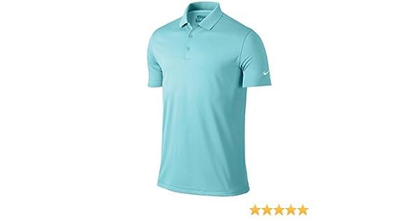 Nike Victory Solid – Polo para hombre, color Copa/White, tamaño ...
