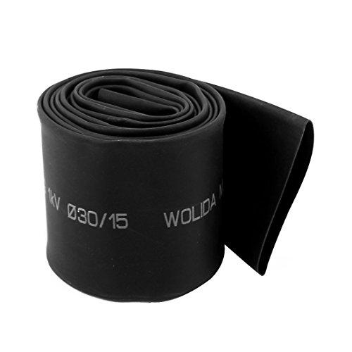 50 1.5M 15 mm Dia 2: 1 Shrink Ratio Shrinkable Tube Heat Shrink Tubing Tube Sleeving, 1.26