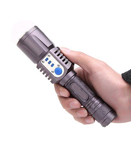 Waterproof Flashlight Torch - 7