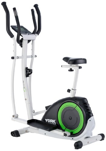 York Fitness Active 120 2-in-1 Cycle Cross Trainer...
