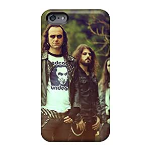 Protective Cell-phone Hard Covers For Iphone 6plus With Customized Trendy Moonspell Band Morbid God Pictures InesWeldon
