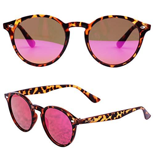 Bachelorette Party Sunglasses for Team Bride - Single Bride Tribe Mirror Pink Lens Glasses - Perfect Bridesmaids Favors, Bridal Shower Ideas - Instagram Worthy Bachelorette Party Decoration/Supplies -