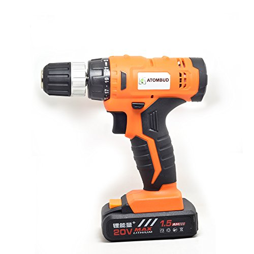 AtomBud 20-Volt Max Lithium-Ion Cordless Drill Drivers by AtomBud