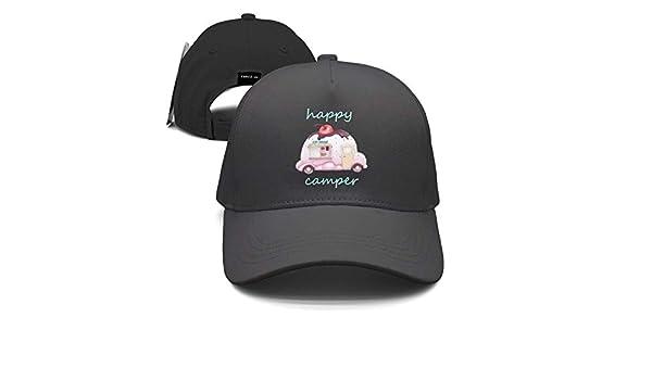 Amazon.com : GlyndaHoa Ice Cream Car Happy Camper Unisex Baseball Cap Snapback Hip Hop Caps Fitted Sport Sun Hats : Sports & Outdoors