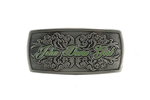 John Deere Girl Belt Buckle - Deere Buckles John