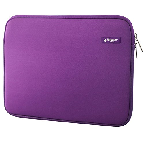 iBenzer Basic 13.3 Deluxe Neoprene Laptop Sleeve Bag Cover Case for Macbook Pro/Air/Retina 13/iPad Pro/HP/Acer/Dell/Asus/Samsung by iBenzer