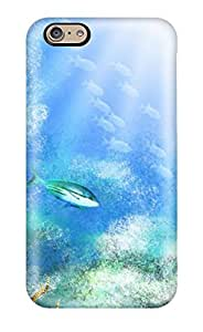 Flexible Tpu Back Case Cover For Iphone 6 - Artistic Abstract Artistic by lolosakes