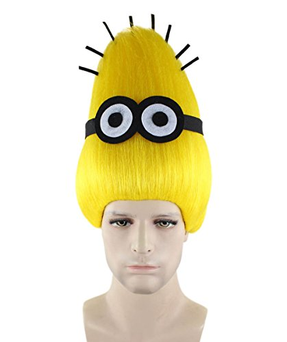 Wig for Cosplay Minions Tom Adult HM-332 -