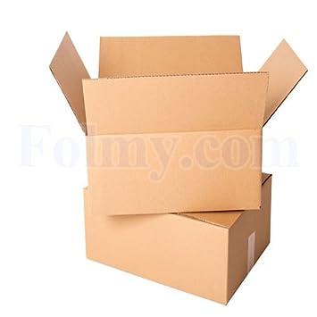 20 Caja de cartón plegable.260 x 170 x 120 mm, 1 ondulación.Cajas de Cartón. Cajas.Mudanza Cartón.Mudanza Cajas.: Amazon.es: Oficina y papelería