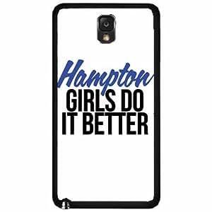 Hampton Girls Do It Better Plastic Phone Case Back Cover Samsung Galaxy Note III 3 N9002