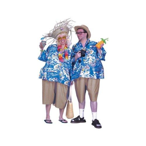 World Traveler Halloween Costume (Tacky Traveler Costume - Standard - Chest Size 33-45)