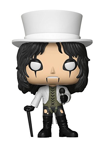 Funko POP!: Rocks Alice Cooper Collectible Figure, Multicolor