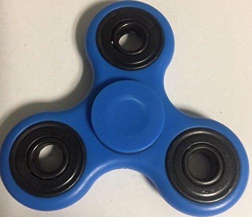 2017 New Hand Spinner - fidget work Ultra Fast Bearings - Finger Toy, Great Gift(Blue) Tom's Fidgets
