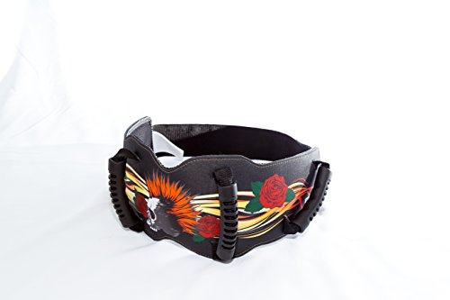 Grip-n-Ride Street Art Collection Punk Skull Belt (One Size) by Grip-n-Ride (Image #4)'