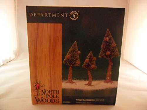 Dept. 56 North Pole Woods Pinewood Trees, Small by Village Accessory (Image #1)