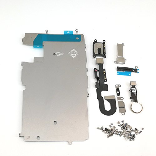 E-repair Screen Metal Bracket Front Camera Flex Cable Small Parts Set Replacement for Iphone 7 (4.7 inch) (Gold) by E-REPAIR
