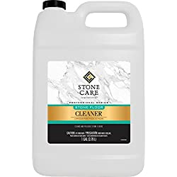 Stone Floor Cleaner - 128 Ounce - Stone Care International - Sealed Granite Laminate Marble Quartz Travertine Limestone Slate Tile etc
