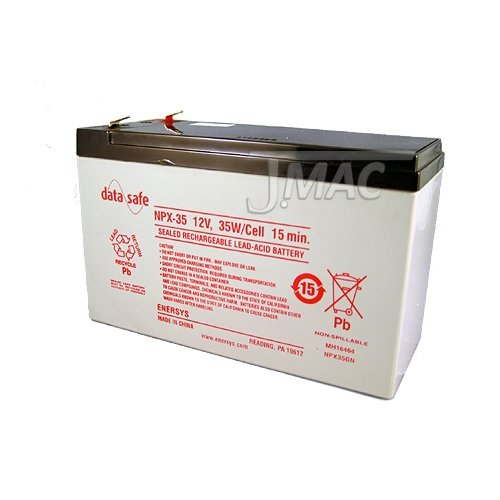 Enersys DataSafe NPX-35-12 Volt/35 Watts per Cell Sealed Lead Acid Battery with 0.187 Connector