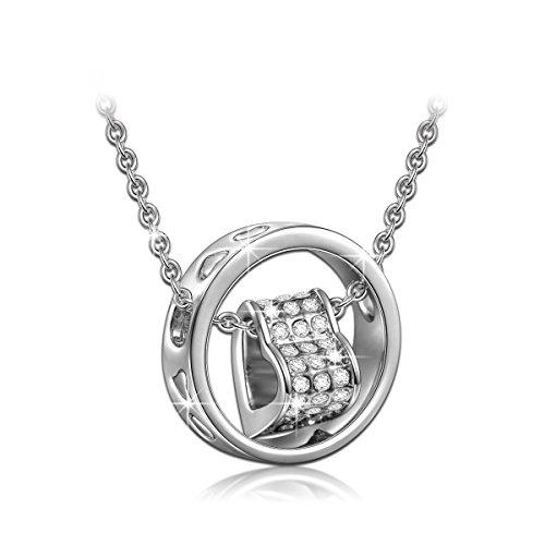 Qianse SWAROVSKI Crystals Pendant Necklace product image