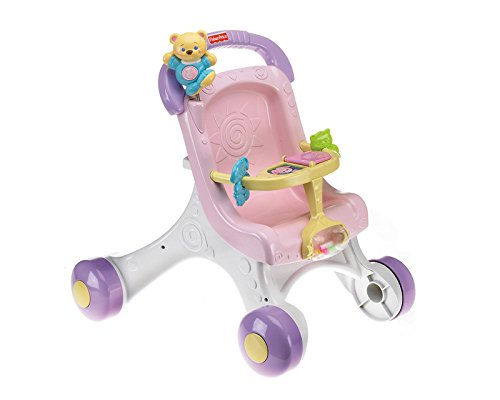 Presents to get 1 year old girls. Fisher-Price Brilliant Basics Stroll-Along Walker