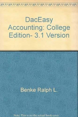 Daceasy Accounting - DacEasy accounting: College edition, 3.1 version
