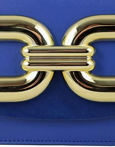 Elisabetta Franchi Luxury Fashion Femme BS47A02E2565 Bleu Sac Porté Épaule |