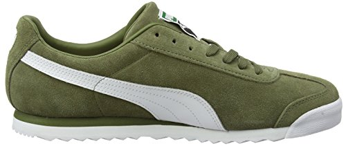 Gold Team capulet Green amazon Mixte Olive Basses White Sneakers Adulte puma Vert Puma Roma Suede qwP7A7