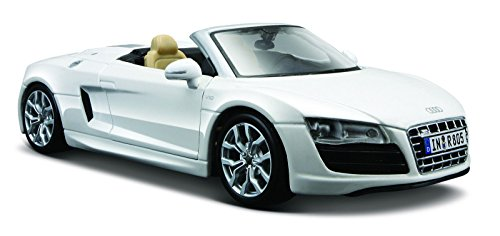 Maisto 1:24 Scale Audi R8 Spyder Diecast Vehicle (Colors May Vary)